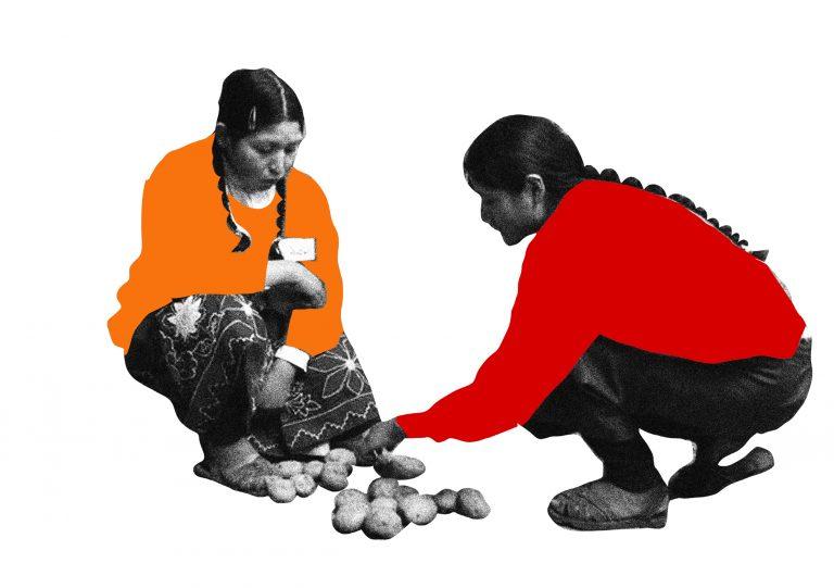 Imagen divulgación de Muestra EPJA ilustra la pagina de reunión de materiales sobre las Confinteas y la Confintea VII.