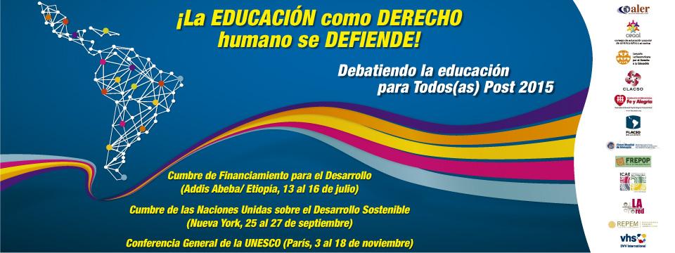 La educación como derecho humano se defiende
