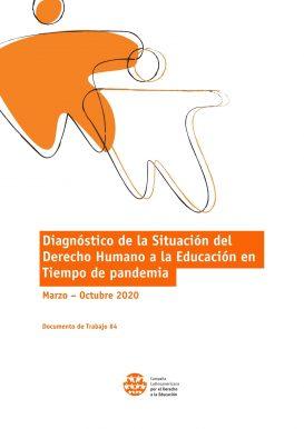 Diagnóstico de la situación del derecho humano a la educación en tiempo de pandemia - Marzo a octubre 2020