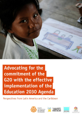 Advocating for the commitment of the G20 with the effective implementation of the Education 2030 Agenda