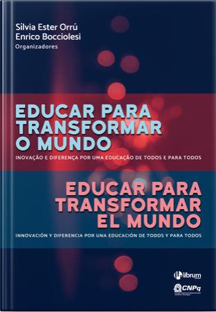 Livro educar para transformar o mundo silvia orrú