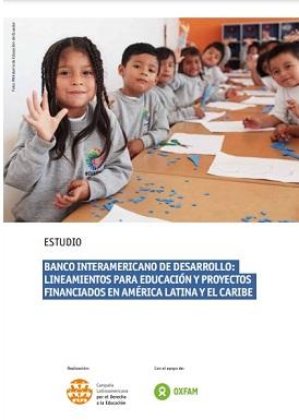 Banco Interamericano de Desarrollo: lineamientos para educación y proyectos financiados en América Latina y el Caribe