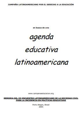Por una Agenda Latinoamericana