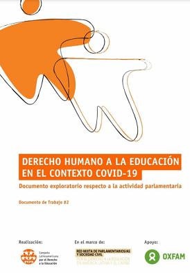 Derecho humano a la educación en el contexto COVID-19 – Documento exploratorio respecto a la actividad parlamentaria