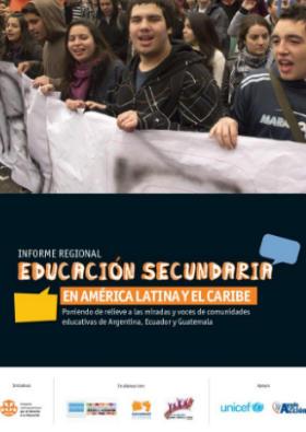 Informe Educación Secundaria en América Latina y el Caribe