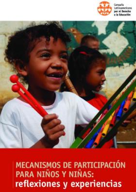 Mecanismos de participación para niños y niñas: reflexiones y experiencias