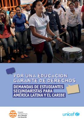 Por una educación garante de derechos: Demandas de estudiantes secundaristas para América Latina y el Caribe