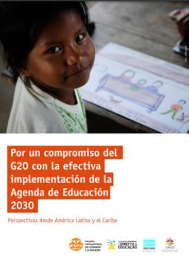 Por un compromiso del G20 con la efectiva implementación de la Agenda de Educación 2030