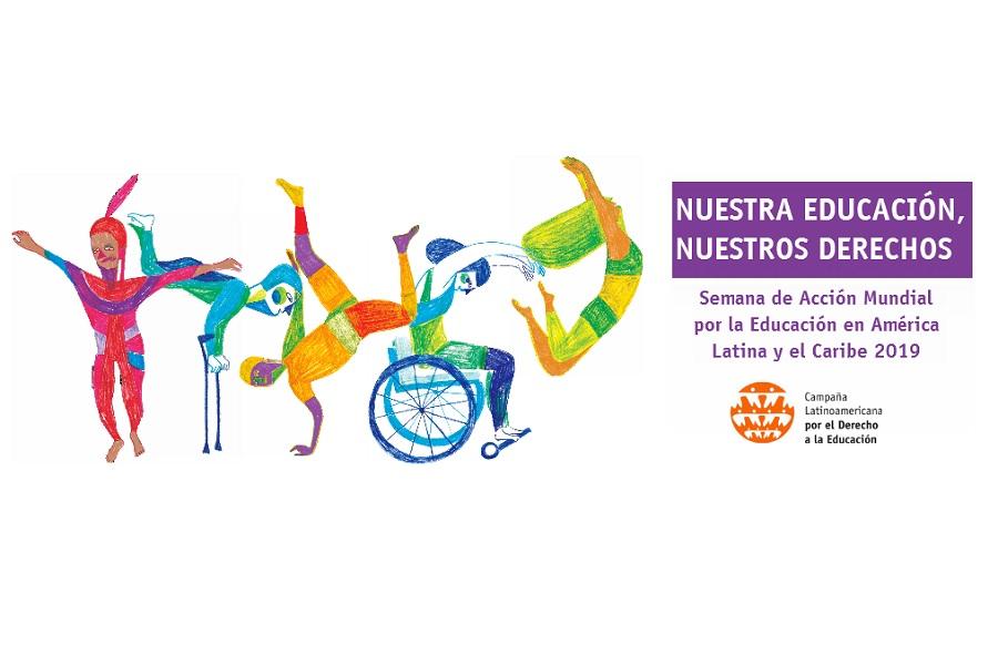 """""""Nuestra educación, nuestros derechos"""": Reflexión y acción por el derecho a la educación en América Latina y el Caribe"""